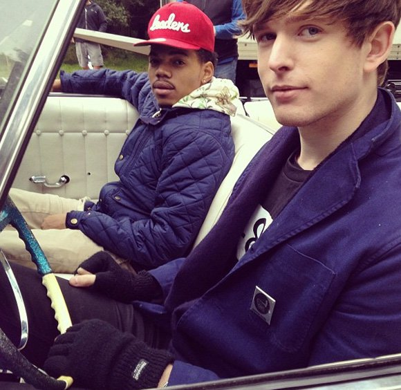 Listen: James Blake - Life Round Here (Ft. Chance the Rapper) : Amazing Indie / Hip-Hop Collaboration