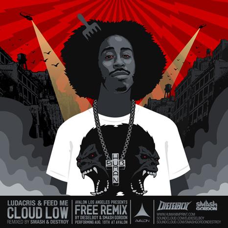 Ludacris vs Feed Me - Cloud Low (Smash Gordon & Dieselboy Mashup