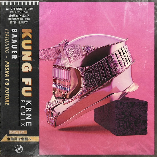 [PREMIERE] Baauer - Kung Fu feat. Pusha T & Future (KRNE Remix) : Trap / Future Bass [Free Download]