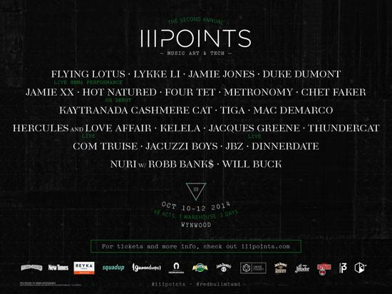 Premiere: III Points Festival Announces Impressive Lineup For Miami Event Featuring Jamie XX