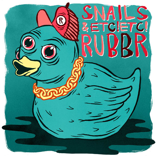 [PREMIERE] Snails & ETC!ETC! - RUBBR : Heaviest Trap Song Ever Created [Free Download]