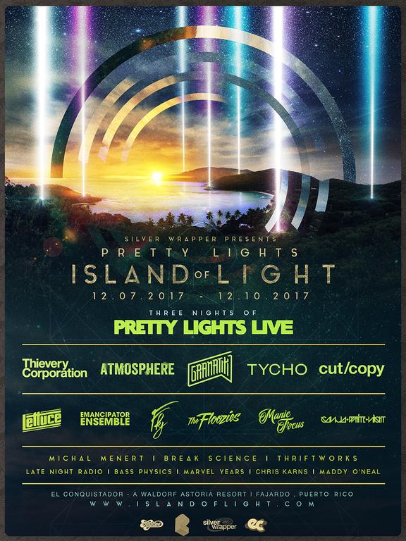 Pretty Lights Island Of Light 2017