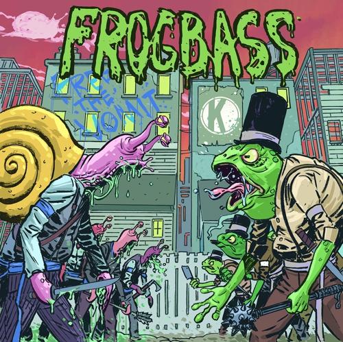 Snails - Frogbass : Extra Weird Dubstep / Electro Single