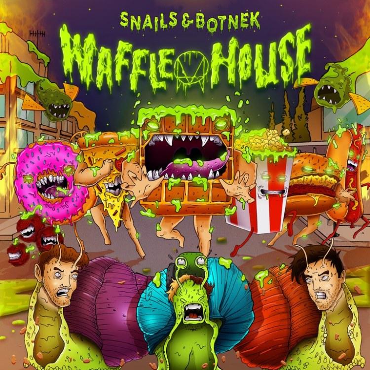 Snails Waffle House Artwork