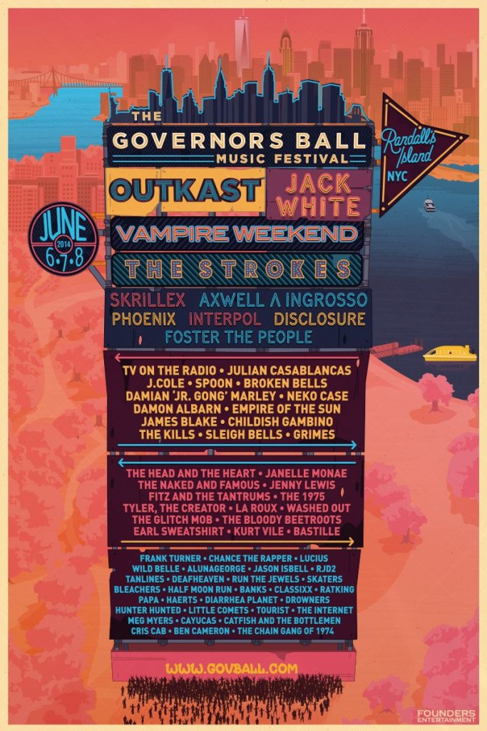 The Governors Ball Music Festival Announces Stunning 2014 Lineup