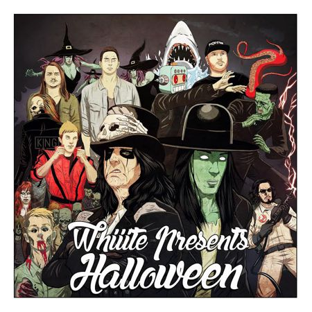[TSIS PREMIERE] Whiiite Delivers Massive Halloween Bootleg Remix Pack [Free Download]
