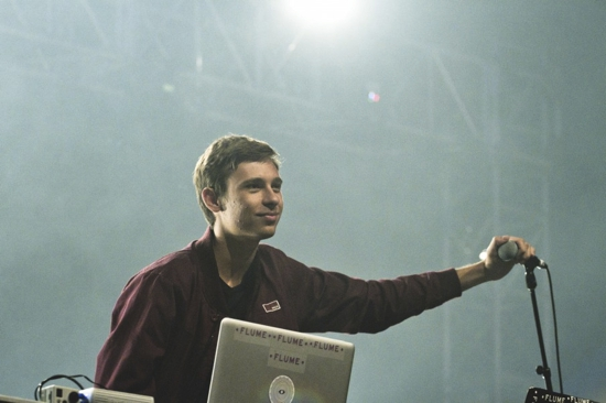 """Watch Flume Perform His Remix of Collarbones' """"Turning"""" Live At Sydney Opera House"""