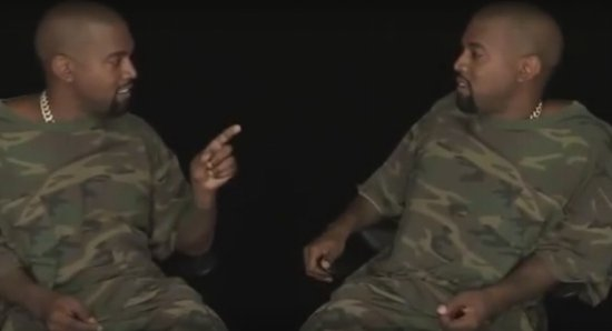 Watch Kanye West Rank His Own Albums Against Himself In New Hilarious Video