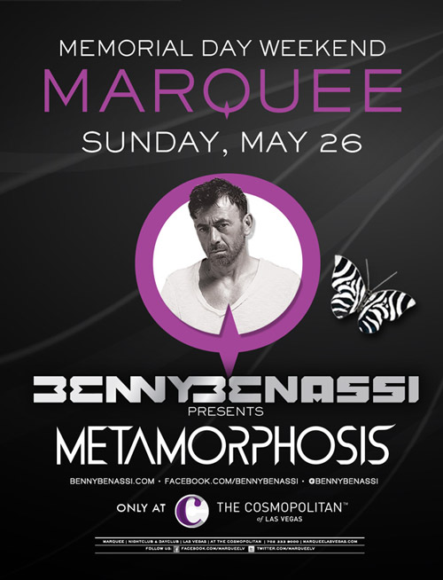 Win a VIP Experience to see Benny Benassi at Marquee Las Vegas [GIVEAWAY]