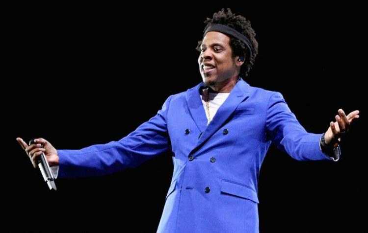 Jay Z Blue Suit