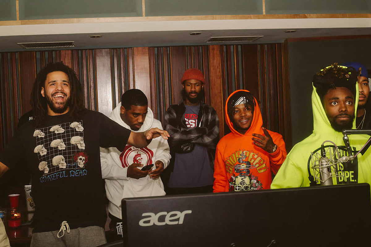 J. Cole, JID, Bas, EarthGang & Young Nudy Unite on