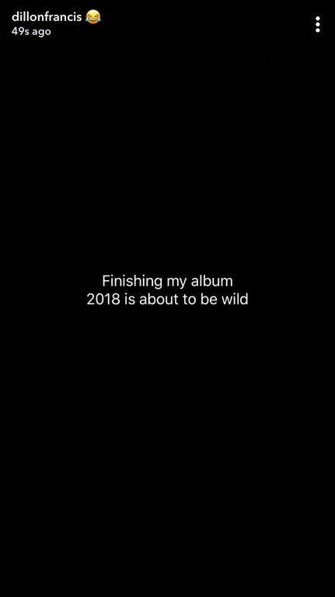 Dillon Francis new album 2018