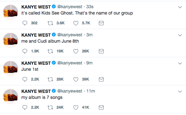 kanye west new album kid cudi