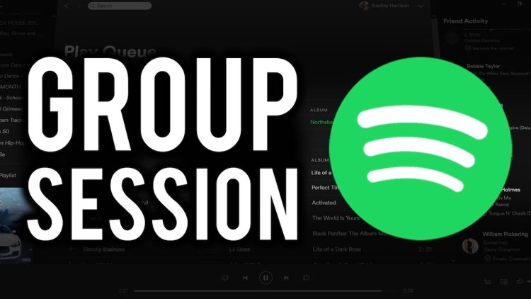 Spotify group session