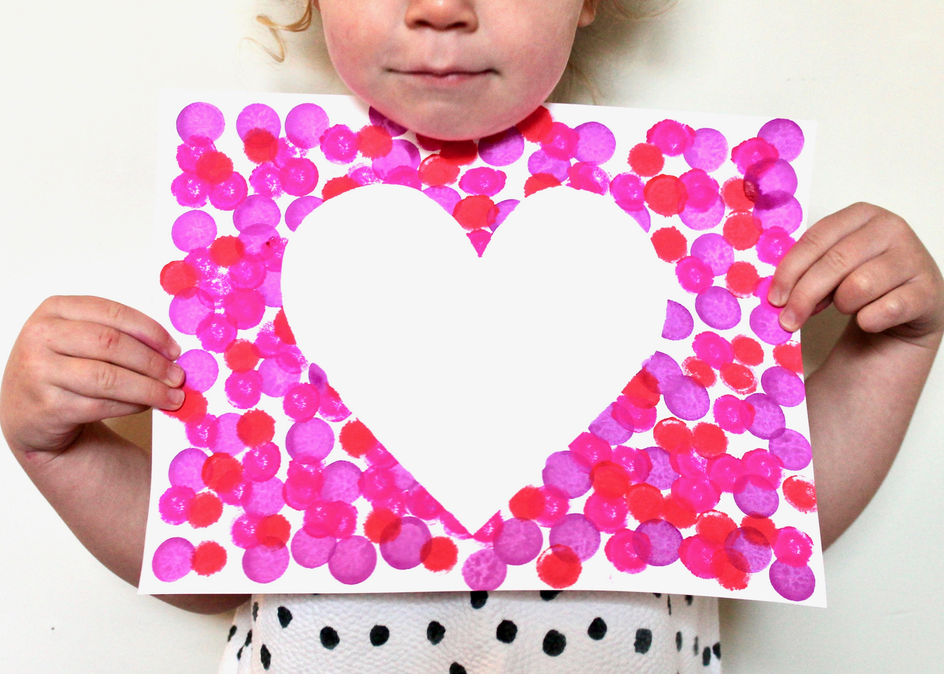 Spread Love Bingo Dauber Heart Craft