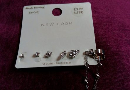 New Look stud and ear cuff set