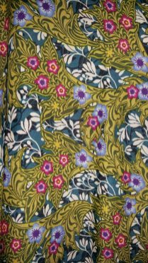 Zara kimono dress close up