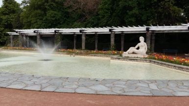 Fountain at Parc de la Tête d'Or