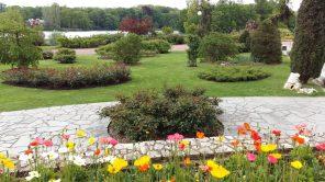 Gardens at Parc de la Tête d'Or