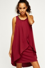 Everything 5 Pounds overlay berry dress
