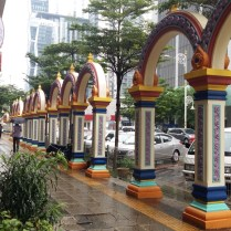 Brickfields ceramic arches
