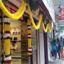 Garlands in Brickfields