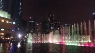 KLCC park fountains light show 8