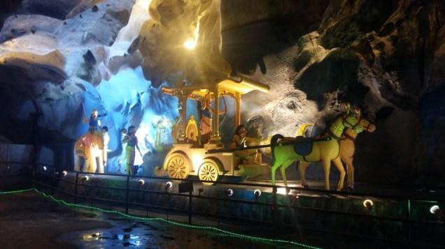 Batu Caves inside Ramayana Cave