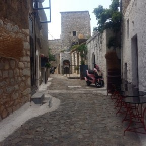 Areopoli alleyway