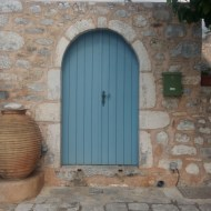 Areopoli blue gate