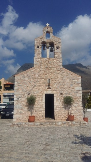 Areopoli church