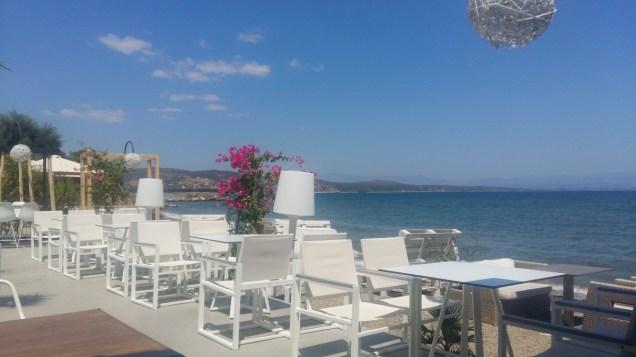 Gythio lunch view
