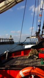 Whitby boat trip Endeavour