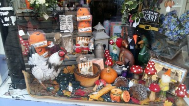 Whitby Halloween shop front