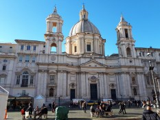 Santa Agnese in Agone church Piazza Navona 2