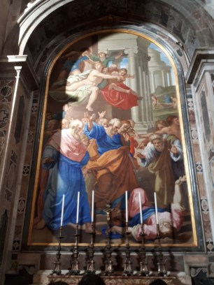 Painting in St Peters Basilica