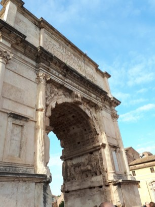 Carving on Arch of Titus