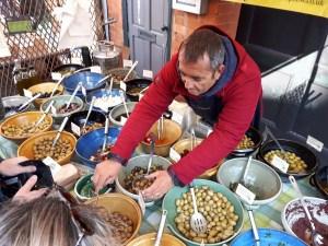 Moseley Farmers Market olives