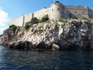 Speedboat trip City Walls from the sea