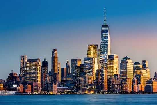 Travel plans 2019 New York skyline