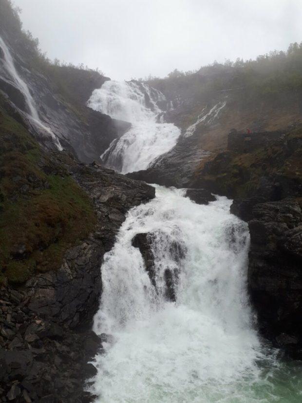 Kjossfossen waterfall Norway