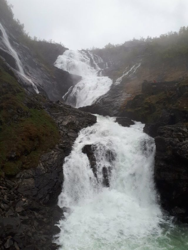 Kjossfossen waterfall Norway