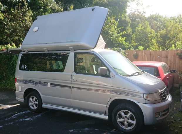 2019 highlights - Mazda Bongo campervan
