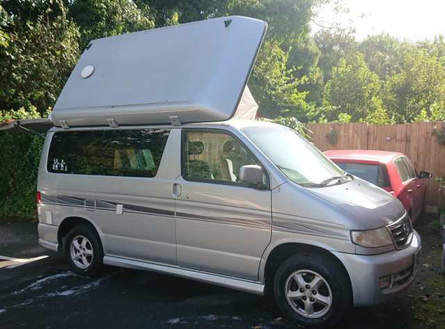 2019 highlights - Mazda Bongo campervan