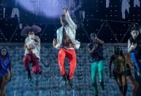 Thriller dancers