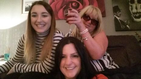 Mom and sister selfie