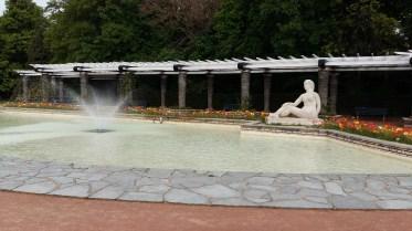 Fountain at Parc de la Tête d'Or