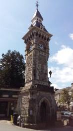 Hay on Wye clock tower