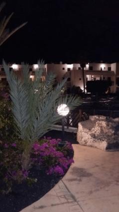 BlueBay Lanzarote pool area night time