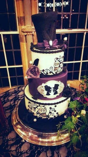 gothic-wedding-cake